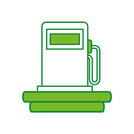 station service pump icon vector illustration design Иллюстрация