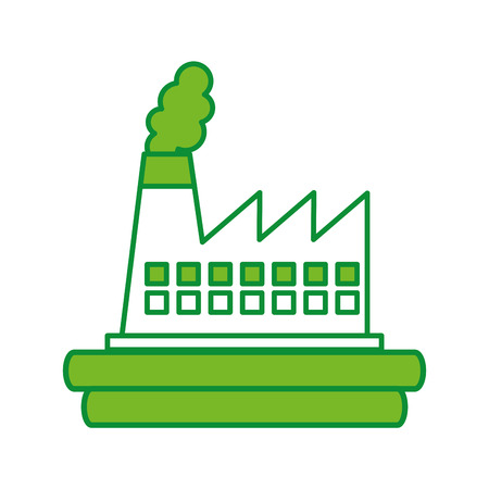 factory industry chimney icon vector illustration design Stock Vector - 78650795