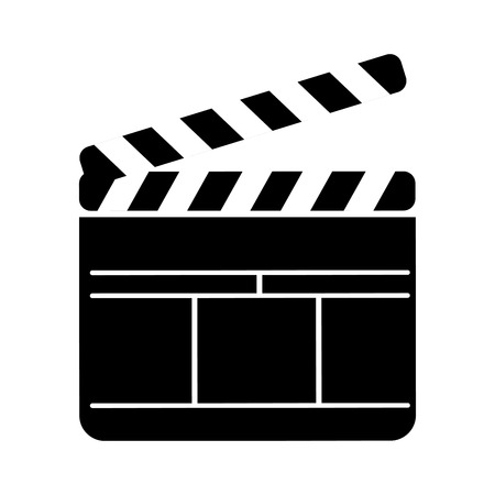 clapperboard film isolated icon vector illustration design Stok Fotoğraf - 78659235