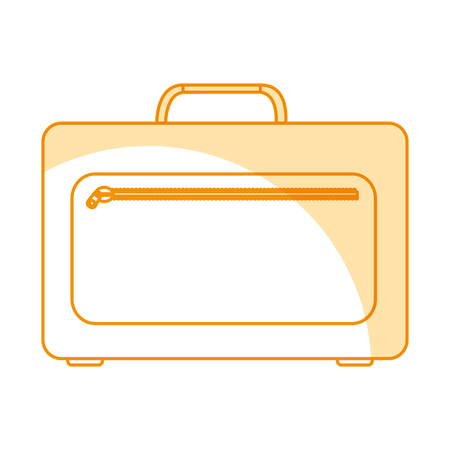 Portfolio Aktentasche isoliert Symbol Vektor-Illustration , Design , Standard-Bild - 78659195
