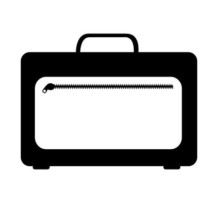 portfolio briefcase isolated icon vector illustration design Stock Photo