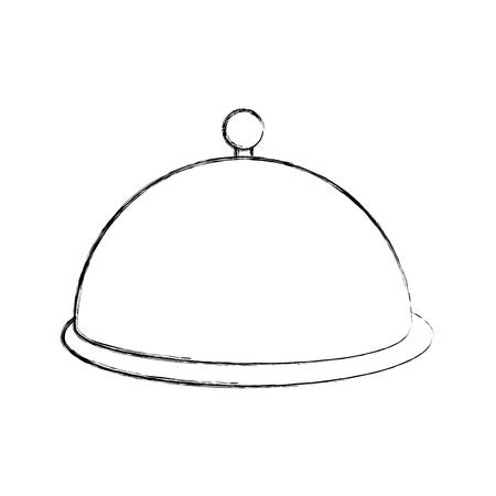 Serveur icône de la barre isolée illustration vectorielle conception Banque d'images - 78659502