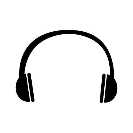 earphone sound isolated icon vector illustration design