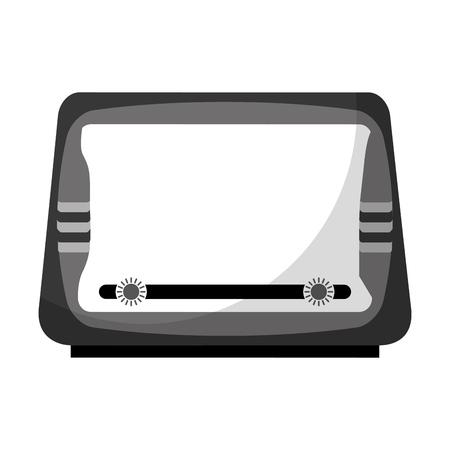 isolated retro radio vector illustration graphic design