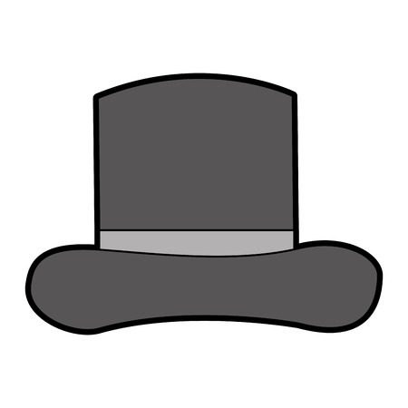 gentleman hat isolated icon vector illustration design