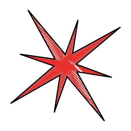 star burst isolated icon vector illustration design