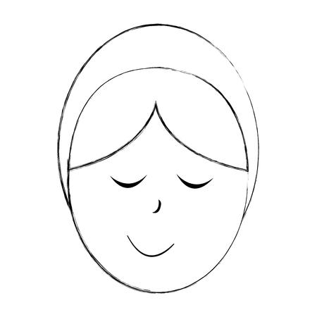 little jesus baby manger character vector illustration design Imagens