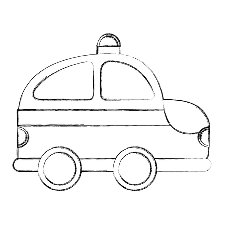 ambulance service isolated icon vector illustration design Illustration