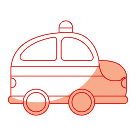 Polizei Patrouille Zeichnung Symbol Vektor-Illustration Design Standard-Bild - 78788865
