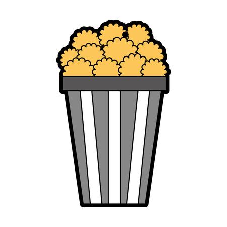 pop corn isolated icon vector illustration design Illustration