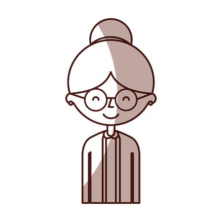 cute avatar perfil de la ilustración vectorial diseño Vectores