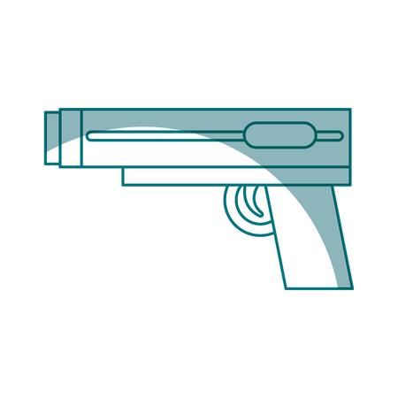video game gun icon vector illustration design Banco de Imagens - 78798875