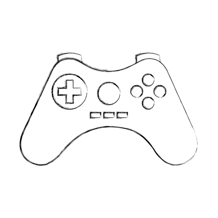video game control icon vector illustration design Stock Vector - 78799064