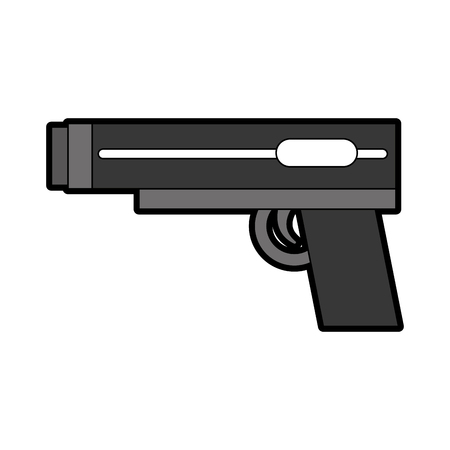 video game gun icon vector illustration design Ilustração