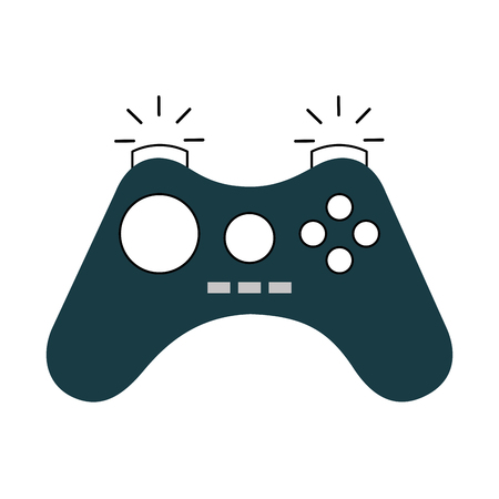 video game control icon vector illustration design