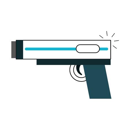video game gun icon vector illustration design Stock Photo