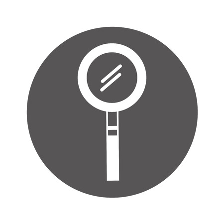 Search magnifying glass icon vector illustration design Stock Vector - 78845319