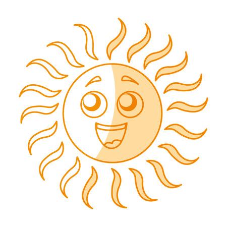 summer sun vector illustration design