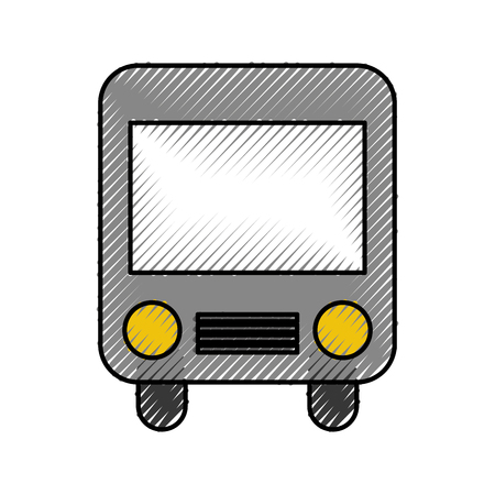 A bus transport isolated icon vector illustration design. Illustration