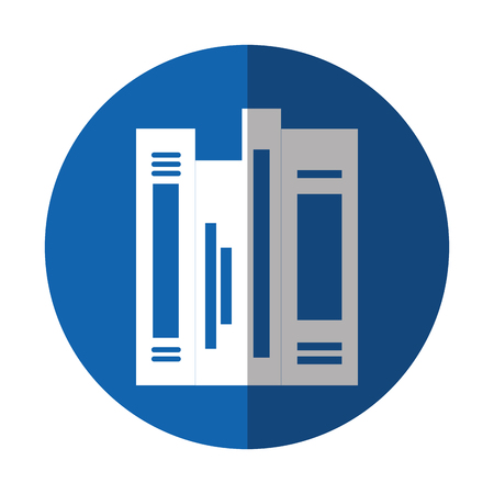 text books: text books library icon vector illustration design