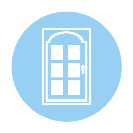 modern house door icon vector illustration design Stock Vector - 78924174