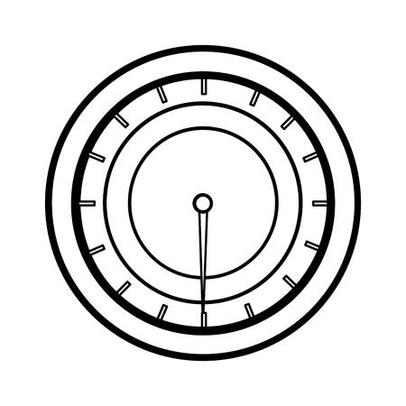 metering: pressure gauge isolated icon vector illustration design Illustration