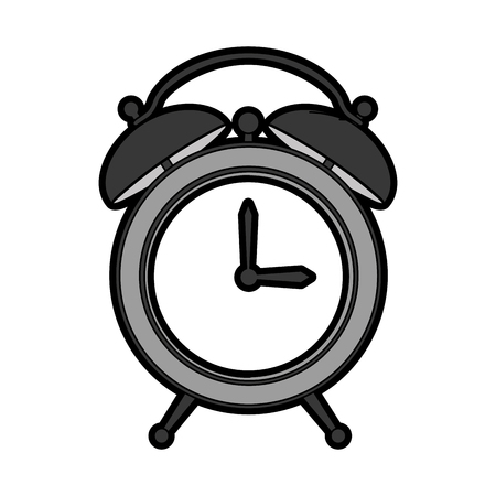 alarm watch isolated icon vector illustration design