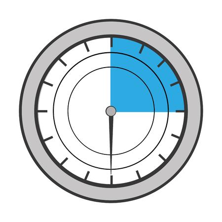 pressure gauge isolated icon vector illustration design Stock Photo