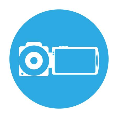 handy camera isolated icon vector illustration design