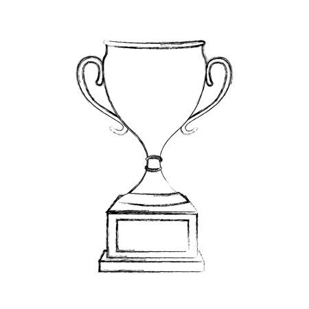 트로피 컵 수상 아이콘 벡터 일러스트 디자인 스톡 콘텐츠 - 78925889