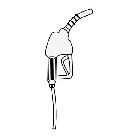 station service gun isolated icon vector illustration design Ilustração