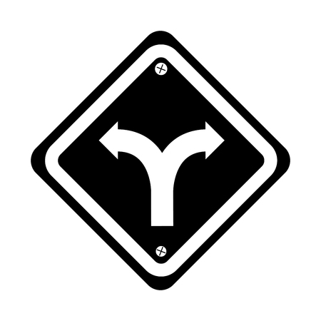 intersection traffic signal icon vector illustration design