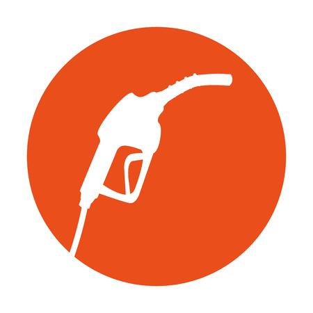 station service gun isolated icon vector illustration design Illustration