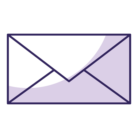 sign post: envelope mail isolated icon vector illustration design Illustration
