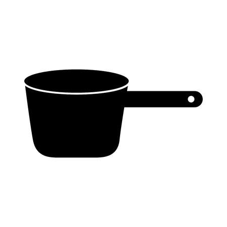 블랙 요리 벡터 일러스트 그래픽 디자인 아이콘