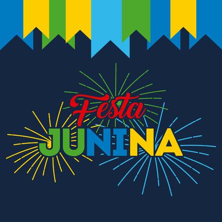 festivity june illustration icon vector design graphic colorful Ilustrace