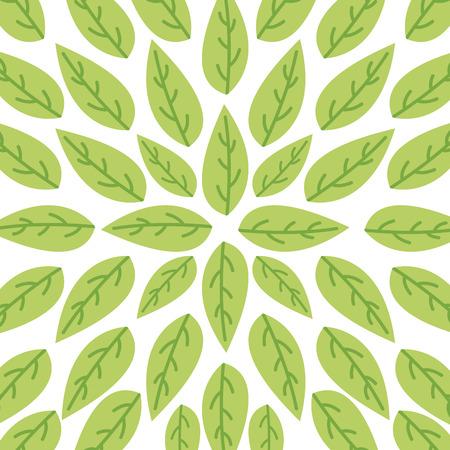 leaves organic icon vecor illustration design graphic Stock Vector - 79101595