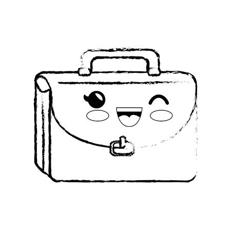 portfolio cartoon smiley cute vector icon illustration graphic design