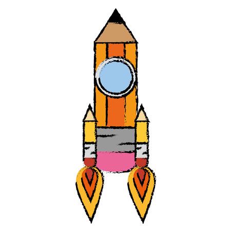 dibujo a lápiz objeto vector icono ilustración diseño gráfico Vectores