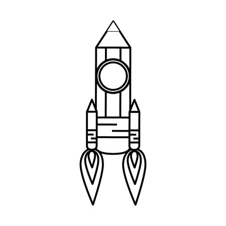 potlood tekening object vector pictogram illustratie grafisch ontwerp