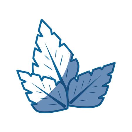 leaves nature plant vector icon illustration graphic design Illustration