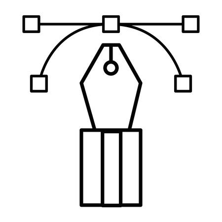 펜 사무실 개체 벡터 아이콘 일러스트 그래픽 디자인 스톡 콘텐츠 - 79179745