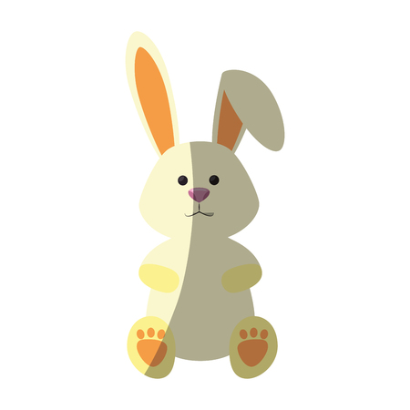 bunny animal nature vector icon illustration graphic design