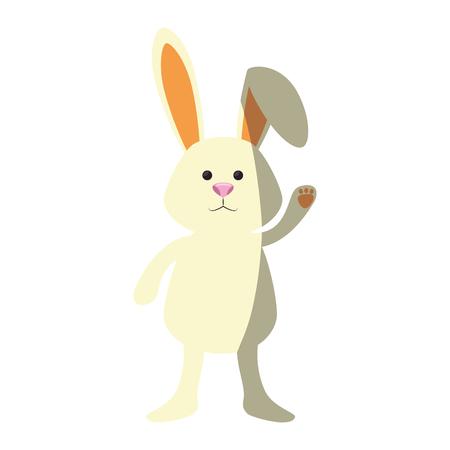 bunny animal nature vector icon illustration graphic design
