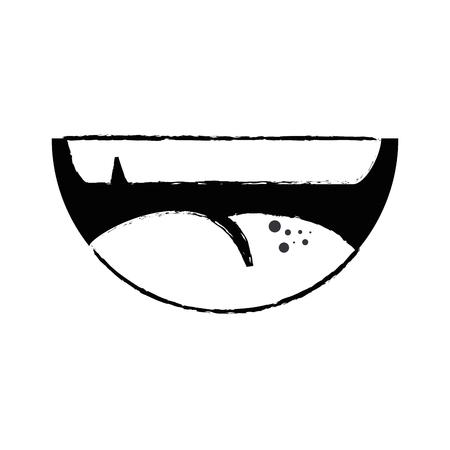 smile fun cartoon vector icon illustration graphic design Illustration