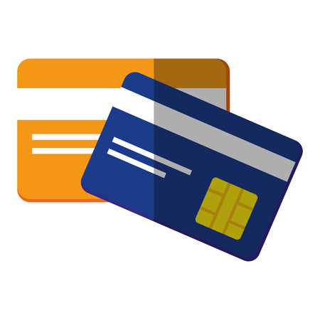 credit cards bank vector icon illustration graphic design