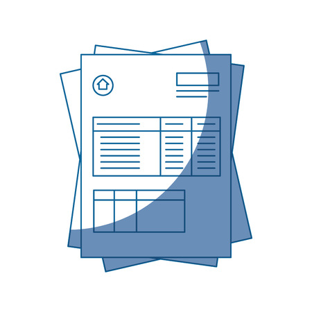 document contract official vector icon illustration graphic design