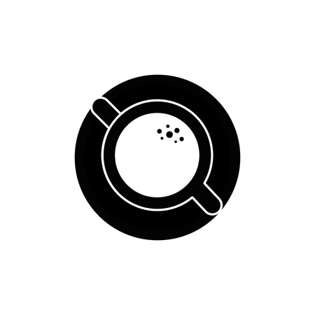 mug coffee cup vector icon illustration graphic design