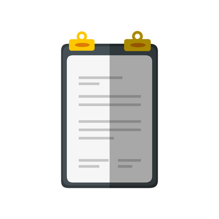 document paper holder vector icon illustration graphic design Ilustração