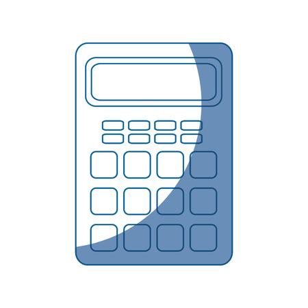 calculator electronic object vector icon illustration graphic design Illustration